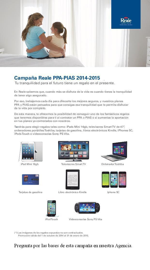 Campaña PPA PIAS 2014-2015