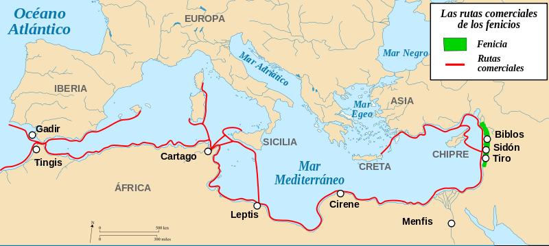 Fenicios, los primeros corredores de seguros (1.000 a.C)