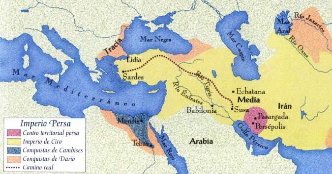 5. Los persas aseguraban a sus súbditos (500 a.C)