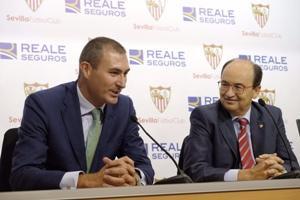Reale será la aseguradora oficial del Sevilla FC