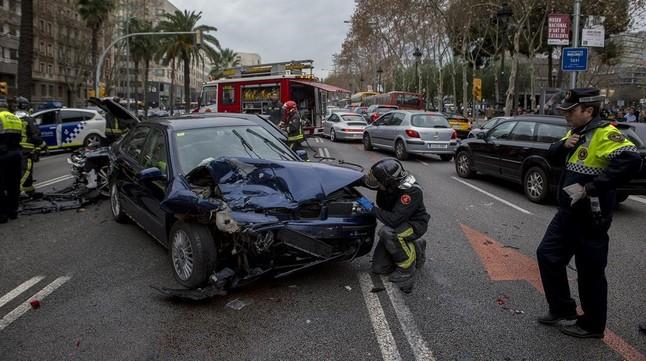 Las indemnizaciones a las víctimas de accidentes de tráfico suben una media del 8%